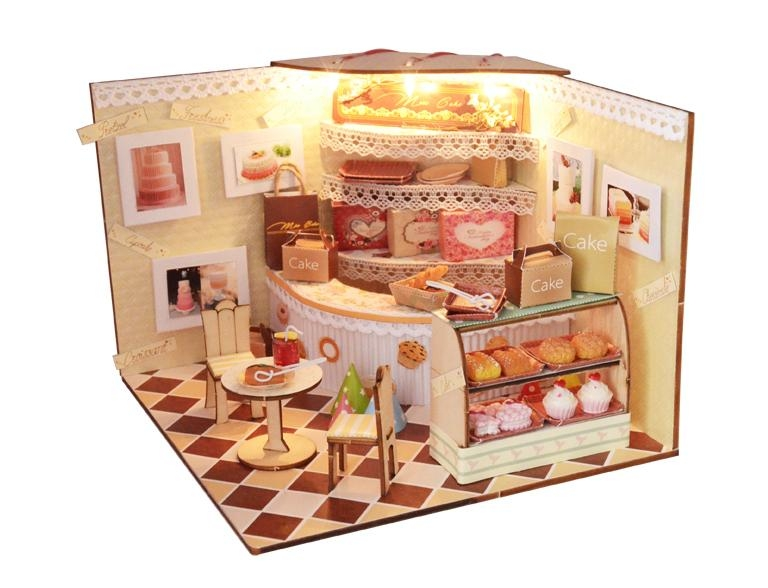 cake shop   doll house   plan toy   model building  DIY house 2