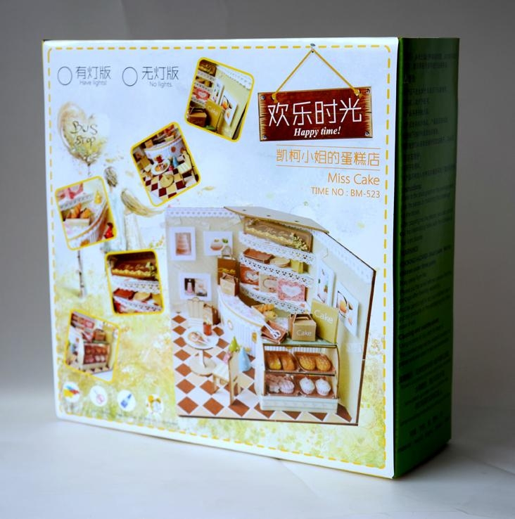 cake shop   doll house   plan toy   model building  DIY house 3