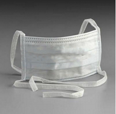 Disposable Non-woven 3ply Tie-on Face Mask