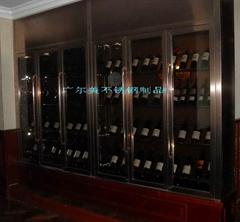 酒莊不鏽鋼鈦金酒櫃