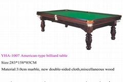 mini solid wooden pool table طاولات البلياردو
