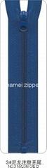 NO.3 Nylon Zipper O/E with plastic stops