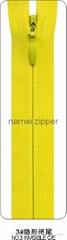 NO.3 Nylon invisible Zipper C/E