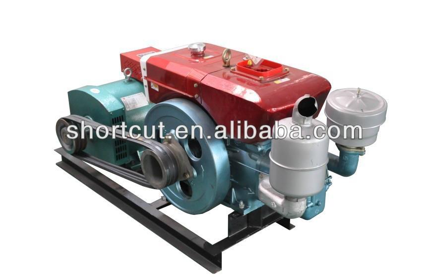 generador diesel 15KW water cooling system for diesel