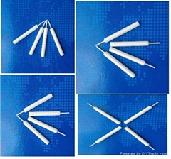 Alumina Ceramic Nozzle in Welding Machine (ceramic wire guide)