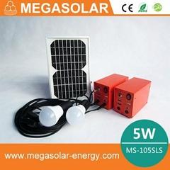 5w solar dc lighting system