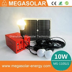 10w solar dc lighting system