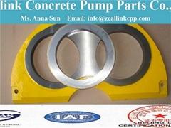 Concrete Pump Wear Parts--Wear Plate & Cutting Rings & S Valve