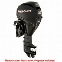 Mercury Marine 30ELGA EFI FourStroke Boat Outboard Motor w/ Fuel Tank