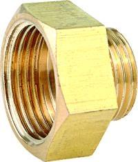 黃銅圈接頭 外螺紋螺帽 2
