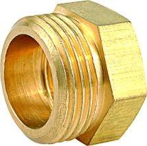 黃銅圈接頭 外螺紋螺帽 3