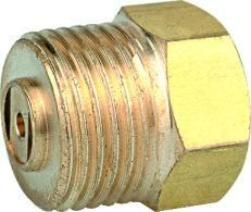 管件黃銅堵頭