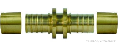 pex管件等徑直通接頭  1