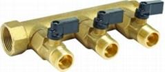 黃銅閥門分水器