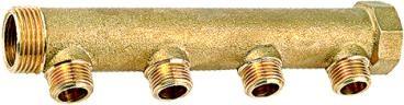 黃銅閥門分水器  3