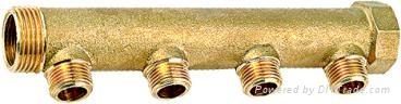 黃銅水暖分水器 2