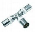 內外螺紋異徑直通液壓鋁塑管件