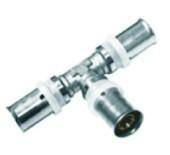 内外螺纹异径直通液压铝塑管件