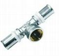內外螺紋異徑直通液壓鋁塑管件 2