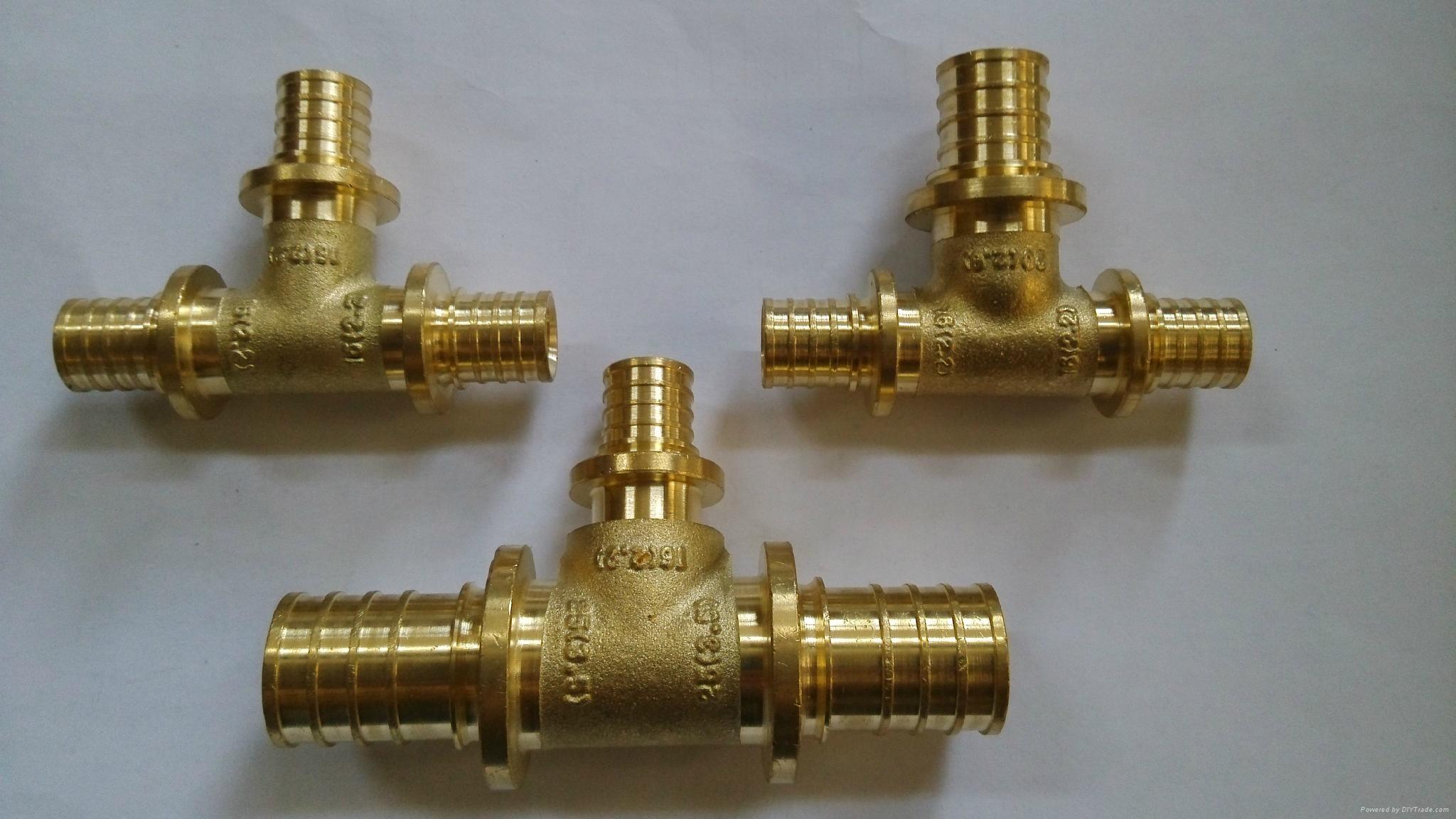 pex 黃銅管件外螺三通 2