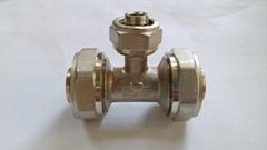 鋁塑管件等徑三通