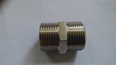 brass equal  fitting connector pipe adapters