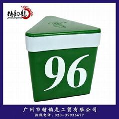 pp出口车顶号码盒子