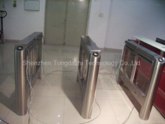 electronic automatic swing barrier gate