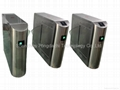 Bidirectional Flap Barrier Gate RFID Turnstile for museum  airport
