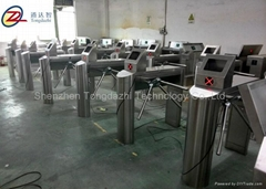 Barcode Access Control with Tripod Turnstile Gate for magnetic card