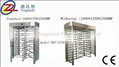 Automatic full height Single Turnstile access control Pedestrian Barrier Gate