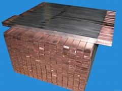 防腐蝕導電陽極杆鈦包銅扁