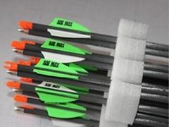 定制箭羽碳纤维箭杆