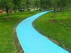 彩色生態透水混凝土路面