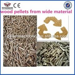 CE/ISO wood pelletizer machine
