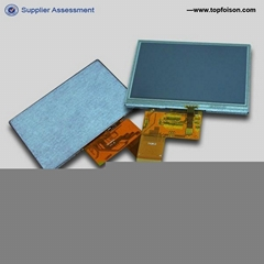 4.3'' TFT LCD display 480*272 with resisitive touch panel