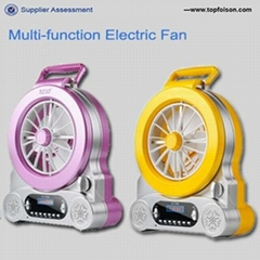rechargeable fan with led light and rechargeable fan with with CE.CB.CSA standar