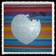 sublimation Magnetism Puzzle different shapes and colors