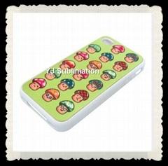 sublimation rubber phone case