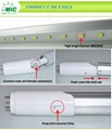 commerical outdoor led MIC 1200mm t8 smd led tube lamp for Garden 4