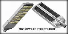 300w led lights for street lights with high luminous