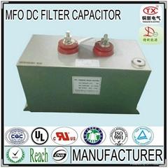 2014 Hot Sale High Voltage 750V-10KVDC and Low ESR MFO DC FILTER CAPACITOR
