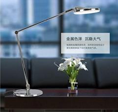 歐式長臂LED護眼酒店臥室臺燈
