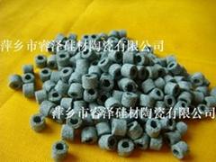 环型绿色碳化硅催化剂载体