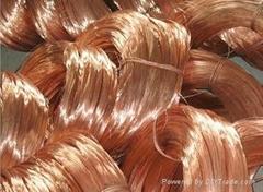 Copper Wire Scrap 95%-99.9%