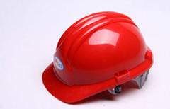 LED miner's safety helmet