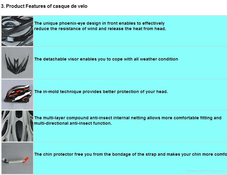 bicycle equipment helmet  road bike helmet  EPS safety helmet 2