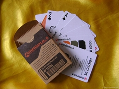 Pokers with Kraft tuck box