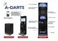 Full Touch Screen Online Digital Dart