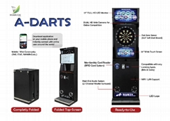 Full Touch Screen Online Digital Dart Machine